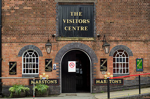 ENG: West Midlands Region, Staffordshire, The Trent Valley, Burton-on-Trent, Marstons Brewery, Shobnall, Visitors Center, a Cask Marque rated pub [Ask for #270.225.]